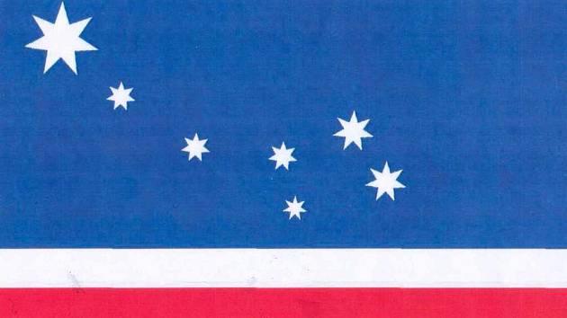 Vlajka městského obvodu Severní Terasa
