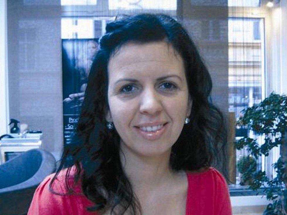 Andrea Nováková z Chomutova.