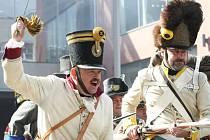 Stylovou vzpomínku na 199. výročí vyhnání napoleonských vojsk z Ústí nad Labem připravilo muzeum města. Přestřelka v ulicích trvala zhruba hodinu.