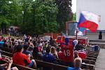 Napínavé drama se smutným koncem prožili ve čtvrtek hokejoví fanoušci v Letním kině.