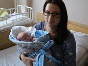 Jan Doškář se narodil v ústecké porodnici 5.1.2017 (20.49) Kateřině Doškářové. Měřil 54 cm, vážil 4,12 kg.