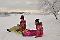 Zimní výlet po trase Ústí - Nakléřov - Petrovice - Ústí.
