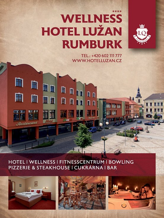 Wellness hotel Lužan Rumburk