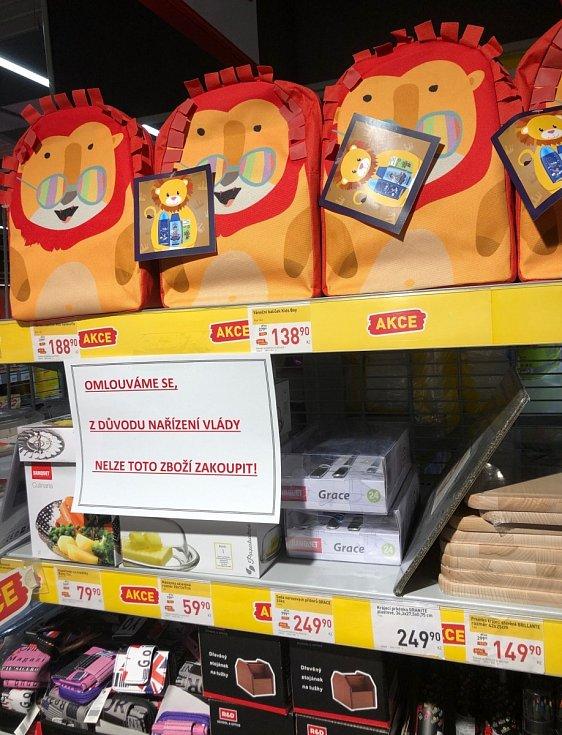 Omezení prodeje některého druhu zboží