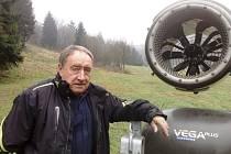 Na novou sezonu je podle Jindřicha Holingera připraven Skiareál Telnice.