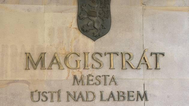 Magistrát města Ústí nad Labem. Ilustrační foto.
