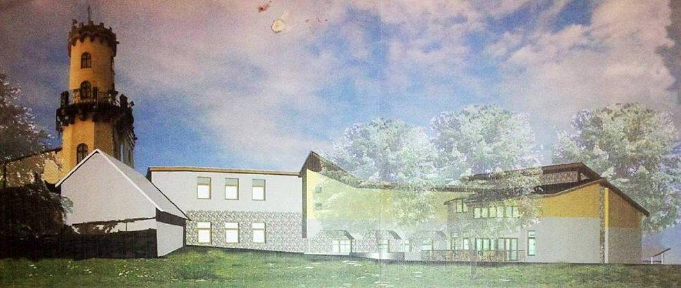 ARCHITEKTONICKÉ STUDIE revitalizace vrcholu Milešovky vypracovaly před několika lety ústecké ateliéry Omega a Archateliér 2000 z Ústí.