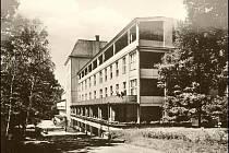Bukovské plicní sanatorium v areálu dnešní Masarykovy nemocnice