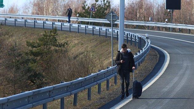 Kontrola na hranicích v Petrovicích