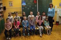Žáci ZŠ SNP v Ústí nad Labem, třída 1.B.