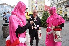 V Ústí nad Labem testovali zájemce bezplatně a anonymně na vir HIV.
