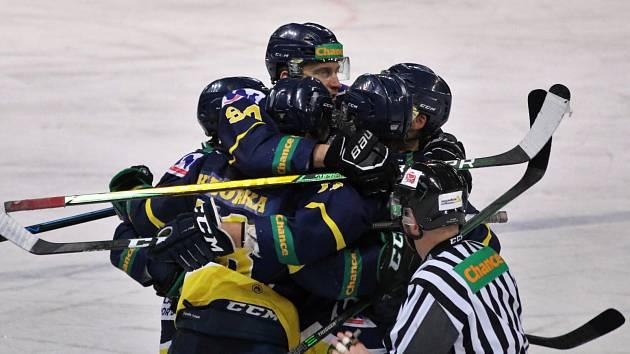Hokejisté Ústí nad Labem - ilustrační foto.