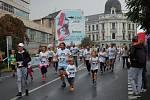 Ústecký půlmaraton 2016, rodinný běh.