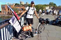 Miroslav Machota už jednu ultradlouhou jízdu absolvoval. Loni ujel za dva týdny 2000 kilometrů z Londýna do Prahy.