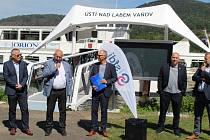 Otevření modernizovaného můstku pro lodní dopravu ve Vaňově
