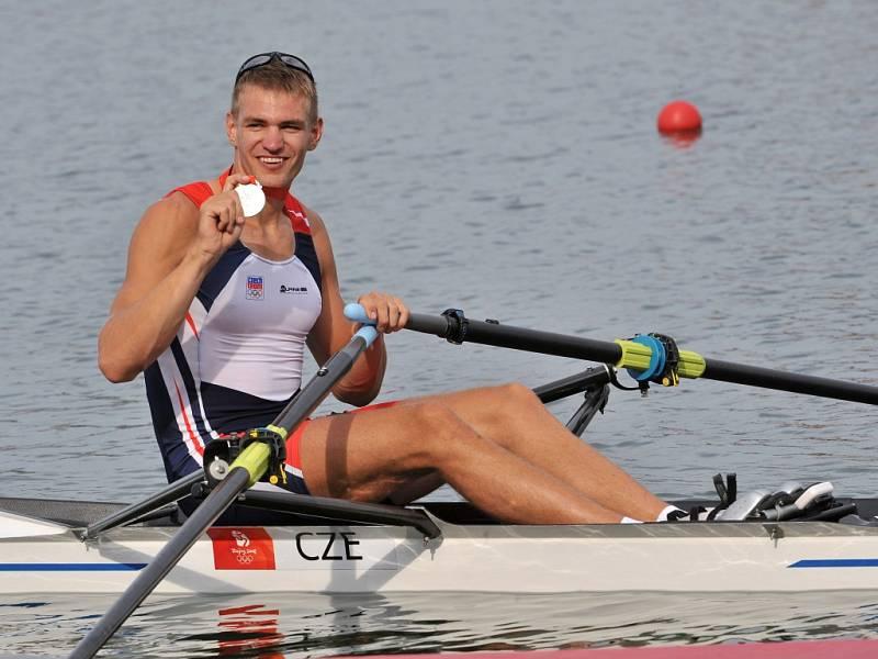 Stříbrný medailista z OH v Londýně Ondřej Synek