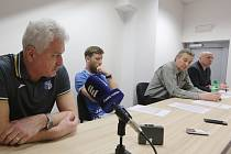 Předsezonní tisková konference FK Ústí nad Labem.