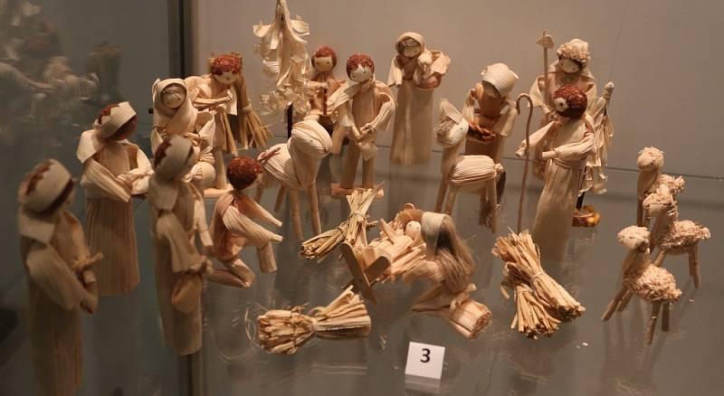 Výstava betlémů v kostele Nanebevzetí Panny Marie.