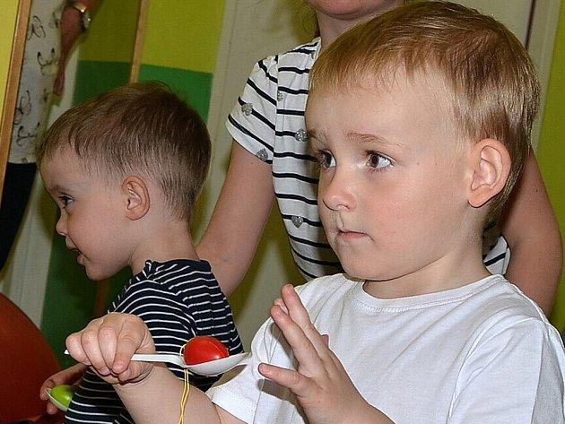 V Chlumci se děti připravovaly na Velikonoce.