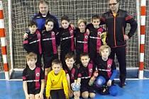 Mladí fotbalisté Litoměřic ovládli první ročník halového turnaje starších přípravek s názvem Köpke Cup.