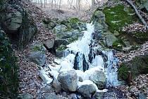 Dobětický vodopád.