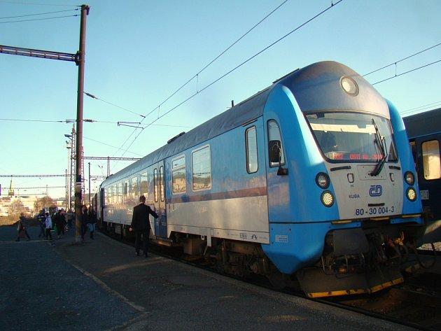 Provoz se zastavil i na nádraží Ústí n. L. - Západ. Ilustrační foto.