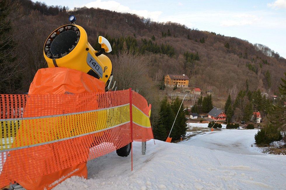 Skiareál Telnice