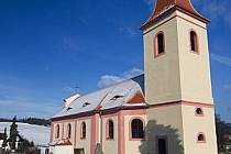 Kostel v Čermné u Libouchce.