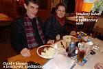Márcio Ricardo Staffen a jeho manželka Gizelle při své návštěvě severních Čech neopomenuli ochutnat naši gastronomickou klasiku.