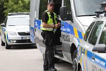 Policisté pokračují v dopravně bezpečnostních akcích.