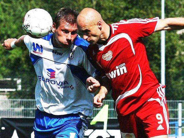 Po domácím souboji s pražskou Duklou (2:1) se v sobotu ústečtí fotbalisté představí na půdě Opavy.