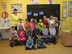 Na snímku jsou žáci ZŠ SNP třída 1.D.