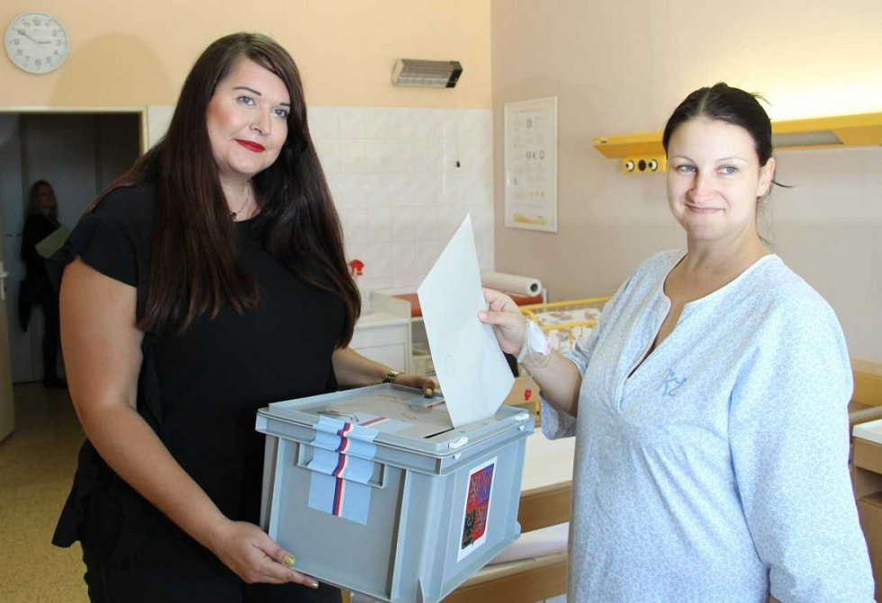 Volby v Masarykově nemocnici v Ústí.