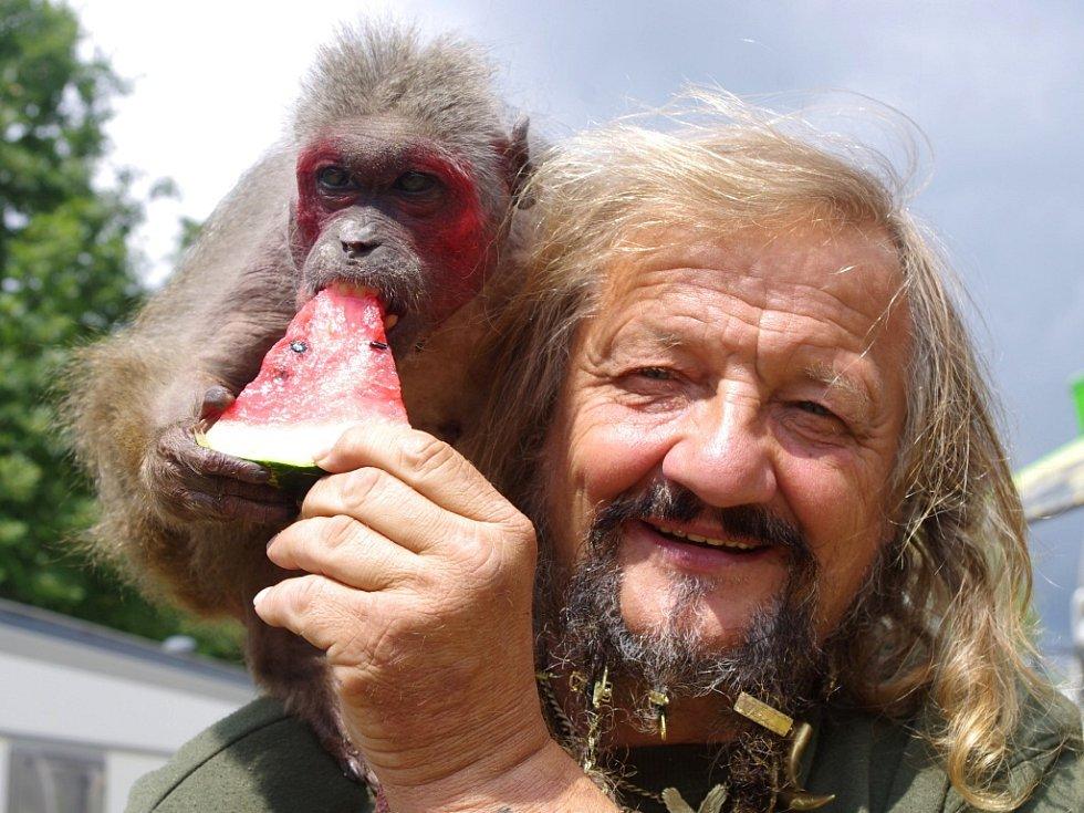 Principál cirkusu Jaromír Joo odchoval stovky zvířat.