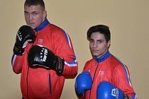 Tomáš Šálek (vlevo) a Artur Šachbazjan.
