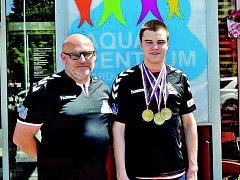 Ústečtí plavci přivezli sedm medailí z letních MČR