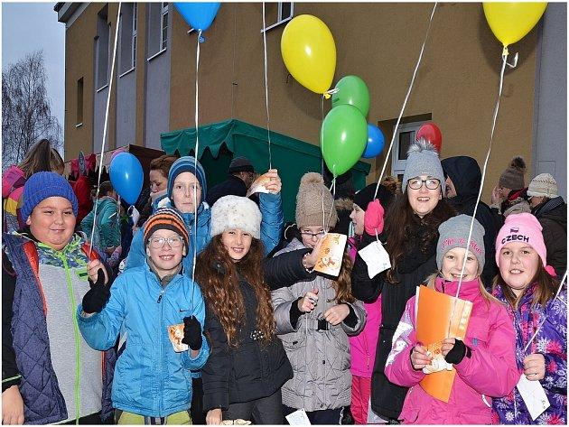Adventní akce v Malečově.
