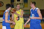 Ústečtí basketbalisté doma na pražský USK kvůli zaváhání v závěru nevyzráli.