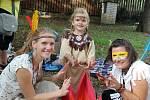 Děti si na Skřivánku užily indiánský den