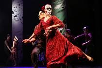 Taneční představení Frida v Severočeském divadle v Ústí nad Labem