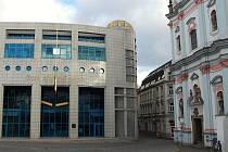 Budova České národní banky.