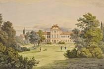 amalie Mánesová - Vrbičany (1843 - 1846).