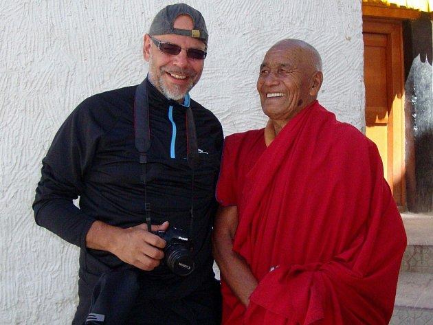 MARTIN POŠTA A DALAJLÁMA, severní Indie, oblast Ladakh, srpen 2013. No ano, viděli se, ale jak to bylo dál?