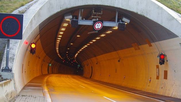Tunel Panenská.