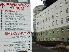 Masarykova nemocnice.