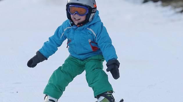 Ski areál Telnice.