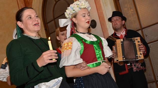 Oslavy stého výročí založení Československé republiky v Trmicích.