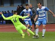 Fotbalový zápas Ústí a Prostějov