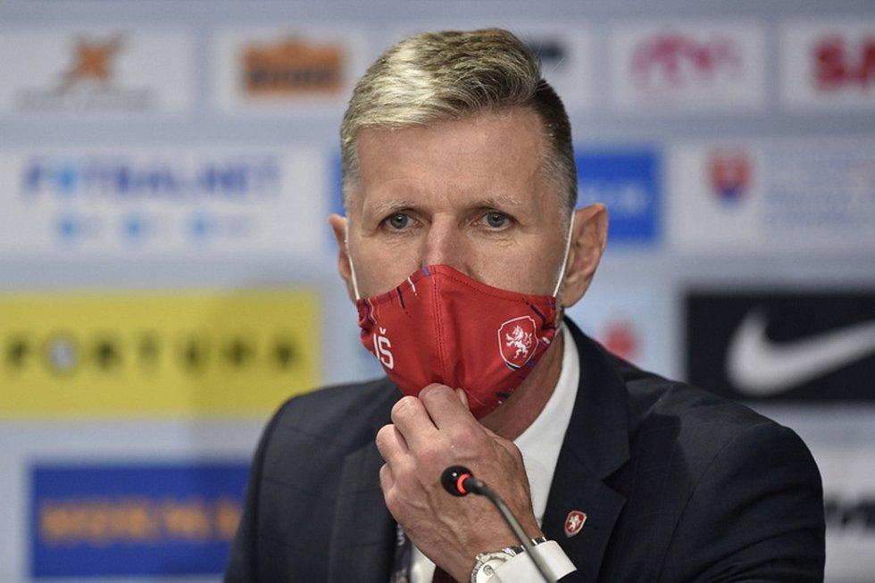 Trenér Jaroslav Šilhavý.