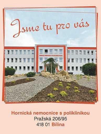 Hornická nemocnice s poliklinikou.